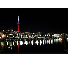 Auckland Viaduct Photographic Print