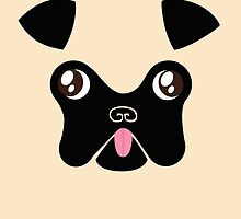 Pug by Claire Belyea