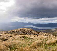 Tongariro Crossing - Path - Panorama by Brian Lai