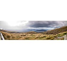 Tongariro Crossing - Path - Panorama Photographic Print