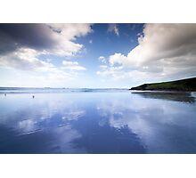 Reflective Sky Photographic Print
