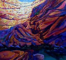 Grotto by jdbuckleyart