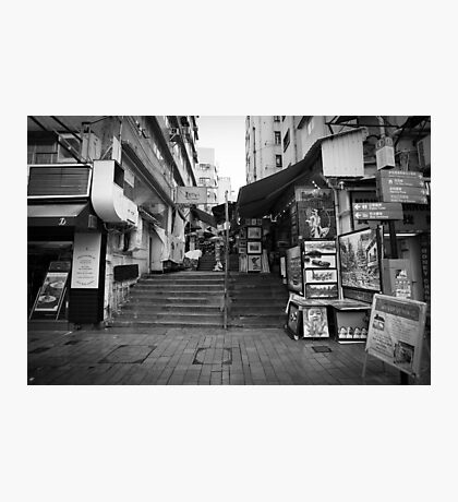 Hong Kong Streets Photographic Print