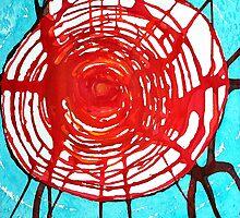 Web of Life original painting by CrowRisingMedia