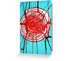 Web of Life original painting Greeting Card