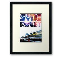 Syde Kwest Legion. Framed Print