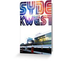 Syde Kwest Legion. Greeting Card