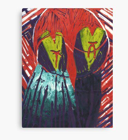 Korean 4 Canvas Print