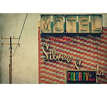Silver Sands Motel Photographic Print