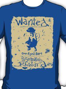 Wanted - One-Eyed Bart T-Shirt