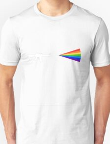 Rainbow Gun - Black/Dark Background T-Shirt