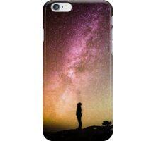 Man Among the Stars iPhone Case/Skin