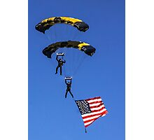 Naval Aviation Parachutists  Photographic Print