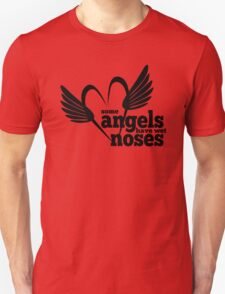 Dog Lovers - Some Angels Have Wet Noses - Rescued Animals - Dogs - Puppies T-Shirt