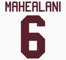 Danny Mahealani Jersey - maroon text by sstilinski