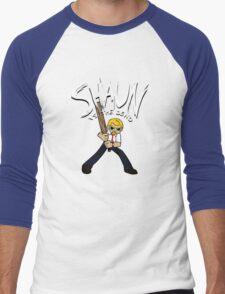 Shaun vs. the Dead Men's Baseball ¾ T-Shirt