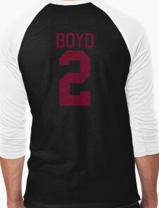 Boyd Jersey - maroon/red text T-Shirt