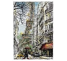 Paris 5 in colour Photographic Print