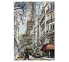 Paris 5 in colour Photographic Print