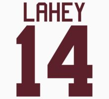 Isaac Lahey Jersey - maroon/red text by sstilinski
