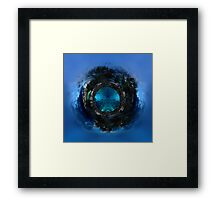 ©HCS Mini World VI / In What World You Are Framed Print