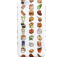 Food Pixels iPhone Case/Skin