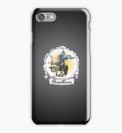 Sagittarius Zodiac Astrology iPhone, iPod Case Fade to Black, Super Lush iPhone Case/Skin