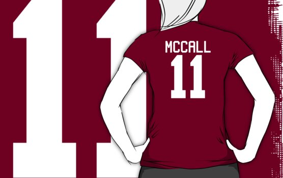 Scott McCall's Jersey - white text by sstilinski