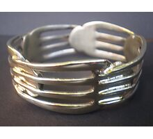 World's Best Spoon and Fork Jewellery 3 Photographic Print