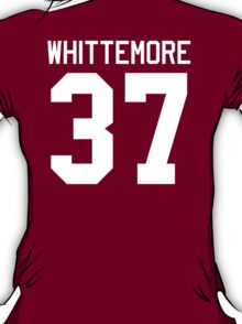 Jackson Whittemore's Jersey - white text T-Shirt
