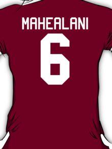 Danny Mahealani Jersey - white text T-Shirt