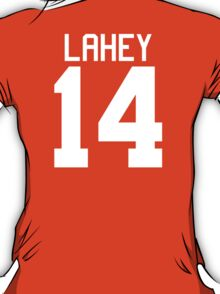 Isaac Lahey Jersey - white text T-Shirt