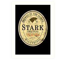 Stark Original Beer Label Art Print