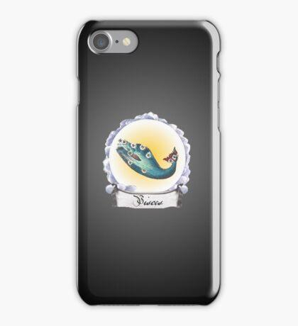 Pisces  Zodiac Astrology iPhone, iPod Case Fade to Black, Super Lush iPhone Case/Skin
