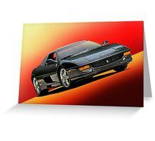 1999 Ferrari 355 Spider Greeting Card