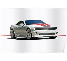 2013 Chevrolet Camaro Poster