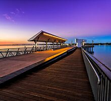 Colors of Southport Jetty by MikeAndrew