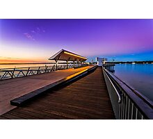 Colors of Southport Jetty Photographic Print