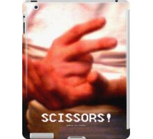 Scissors! iPad Case/Skin