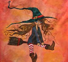 The Little Witch by Kajsa Christiansson