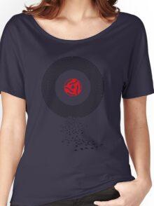 Music on Vinyl Women's Relaxed Fit T-Shirt