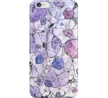 Indigo Flora iPhone Case/Skin