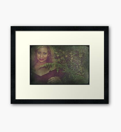 Not Quite There Framed Print