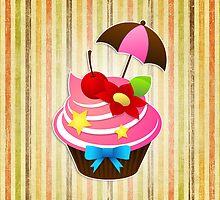 Summer Cupcake by jebez-kali