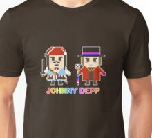 Pixel Johnny Depp Unisex T-Shirt