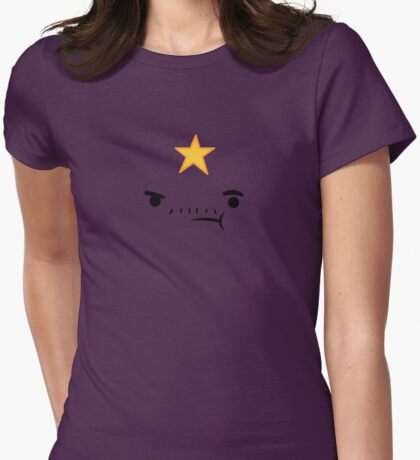 Lumpy Space Prince Womens Fitted T-Shirt