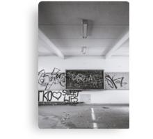Blackboard Canvas Print
