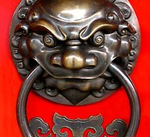 Chinese Door Knocker by jwwallace