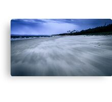 The Beach Twisted Canvas Print