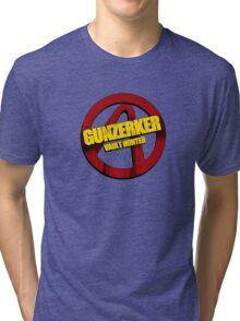 Gunzerker Tri-blend T-Shirt